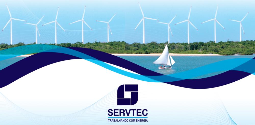 Design em ondas para a Servtec